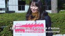 Une Japonaise se bat contre l'interdiction des lunettes pour les femmes en entreprise