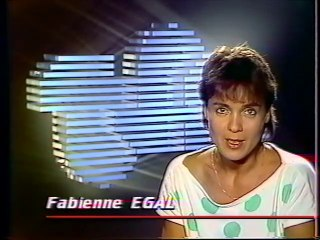 TF1 - 25 Juin 1986 - Pubs, bande annonce, speakerine (Fabienne Egal)