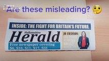 NSST-Misleading election leaflets