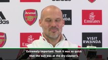 My suit was at the dry cleaner's! - Ljungberg responds to Scholes