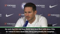 'Most decorated captain' Terry will get a good reception - Lampard