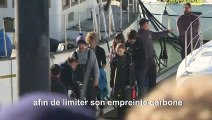 Greta Thunberg arrive au Portugal avant la COP25