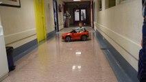Sambreville: une Jaguar électrique pour le service pédiatrie du CHR