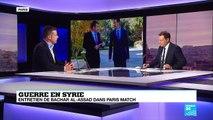 Guerre en Syrie : Entretien de Bachar Al-Assad dans Paris Match