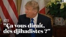 Donald Trump s'en prend à Emmanuel Macron avant le sommet de l'Otan