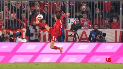 Bundesliga: Top 5 Skills of Robert Lewandowski so far
