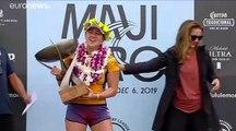Surf: l'hawaiana Carissa Moore vince il titolo mondiale femminile