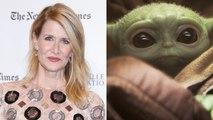 Laura Dern Says She Saw Baby Yoda at a Basketball Game