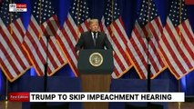 Trump skips impeachment hearing and imposes new tariffs on Brazil, Argentina