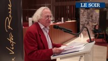 La cérémonie de remise du prix Victor Rossel 2019 à Vinciane Moeschler