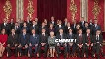 La reine Elizabeth II reçoit les chefs d'État membres de l'Otan
