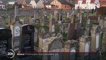 Bas-Rhin : un cimetière juif a été profané