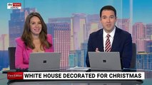 White House christmas decorations unveiled