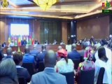 RTB/Les travaux de la session extraordinaire de la conférence des Chefs d'Etat membres de l'UEMOA en marge de la Conférence de Dakar