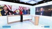 Taxe Gafa : Donald Trump tente l'apaisement