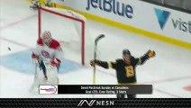 David Pastrnak Continues To Amaze Notching Goal No. 25 Vs. Canadiens
