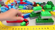 Tayo The Little Bus Learn Colors Thomas and Friends Mega Bloks Train Toy Surprise