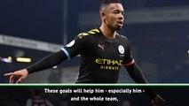 Guardiola praises Jesus after 'incredible' goals
