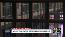 New whistleblower says prison 'hiding' broken doors