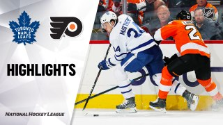 Philadelphia Flyers vs. Toronto Maple Leafs - Game Highlights