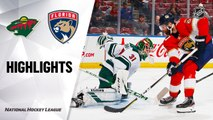 NHL Highlights | Wild @ Panthers 12/03/19