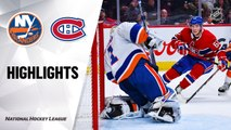 NHL Highlights | Islanders @ Canadiens 12/03/19