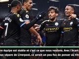 """15e j. - Guardiola : """"Ce serait un peu fou de ne penser qu'au titre"""""""