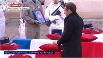 Jean-Marie Bockel réconforté par les mots d'Emmanuel Macron après la mort de son fils au Mali