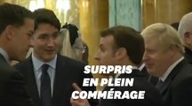 Macron, Trudeau et Johnson semblent rire de Trump dans une vidéo en marge de l'Otan