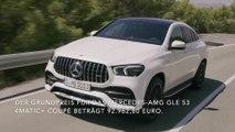 Verkaufsstart für Mercedes-Benz GLE Coupé und Mercedes-AMG GLE 53 4MATIC+ Coupé- Mehr Luxus, mehr Coupé - ab sofort bestellbar