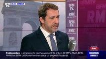"""Christophe Castaner : """"Il y aura des black bloc et des gilets jaunes radicaux"""" dans les manifestations du 5 décembre"""