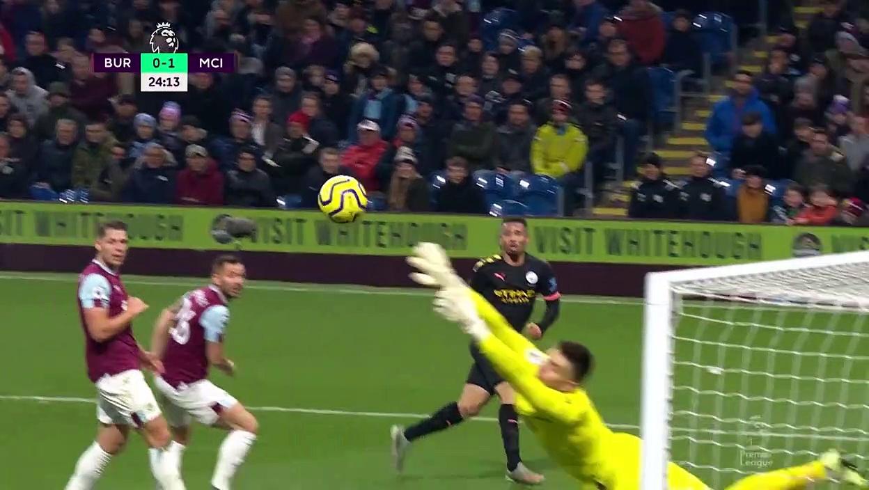 Burnley - Manchester City (1-4) - Maç Özeti - Premier League 2019/20