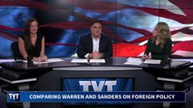 Bernie Sanders Distances Himself From Elizabeth Warren on Foreign Policy