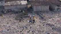 Plastic waste in Indonesia threatens fish stocks