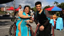 Taiwanese wheelchair athletes find love on way to No 2 ranking on dance floor