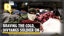 Spending A Night With Divyang Protesters in Harsh Delhi Winters