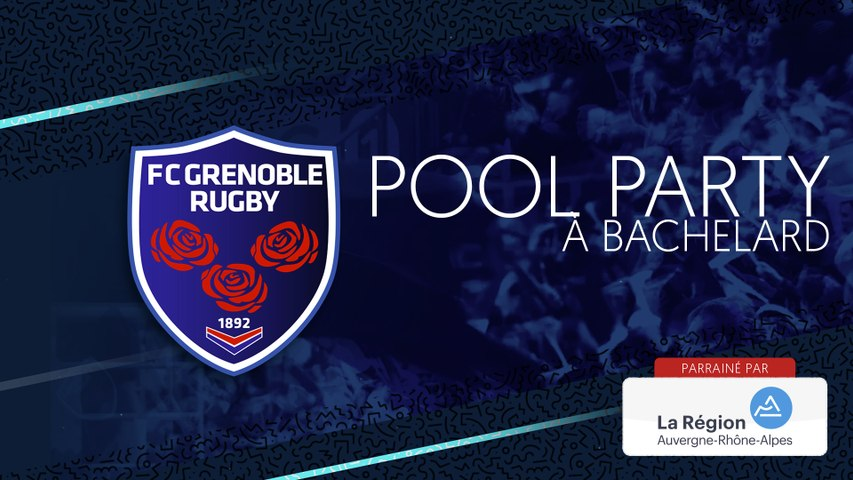 Rugby : Video - Pool Party à Bachelard