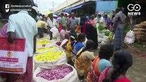 मदुरै में चमेली के फ़ूलों की कीमत पहुंची तीन हजार से ऊपर