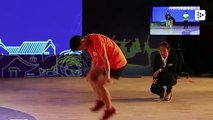 A Chinese teenager breaks his own jumping the rope world record
