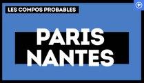 PSG-Nantes : les compos probables