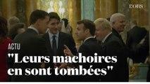 Quand Trudeau, Macron et Johnson semblent se moquer de Trump