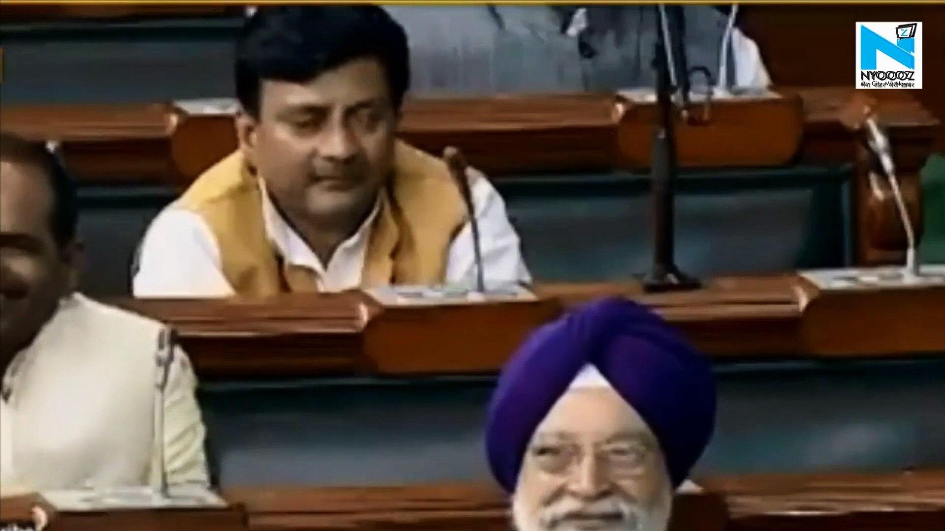 Watch: Was AAP leader Bhagwant Mann drunk  in Lok Sabha?