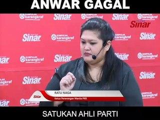 Anwar Gagal Satukan Ahli Parti