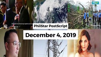 Postscript December 4, 2019