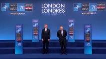 NATO Devlet ve Hükümet Başkanları Zirvesi - Cumhurbaşkanı Erdoğan'ın gelişi (2)