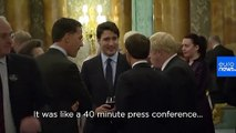 Trump slams Trudeau  as 'two-faced' over video apparently mocking him