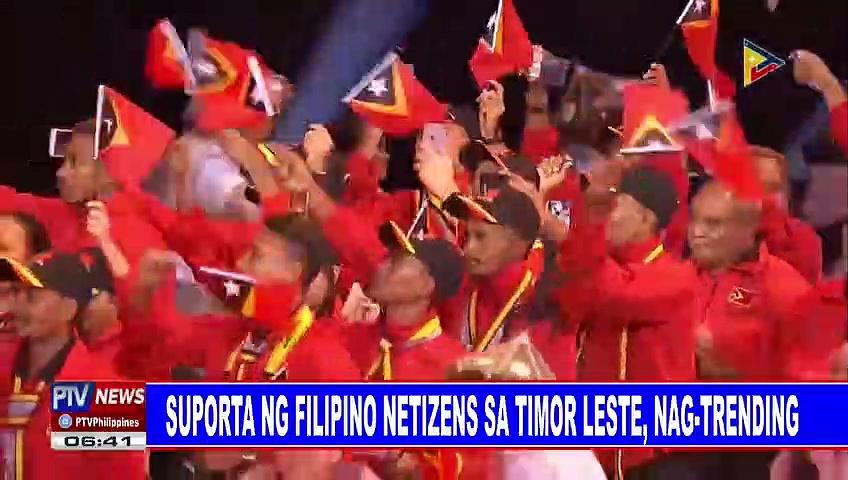 Suporta ng Filipino netizens sa Timor Leste, nag-trending