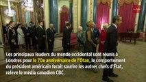 Trudeau, Macron et Johnson filmés en train de se moquer de Trump