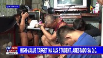High-value target na ALS student, arestado sa QC