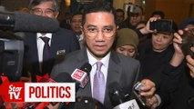 Azmin to attend PKR congress, but tight-lippedon thedetails